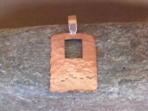Navajo-Indian-Jewelry-Copper-Hammered-Pendant-Handmade-by-Douglas-Etsitty