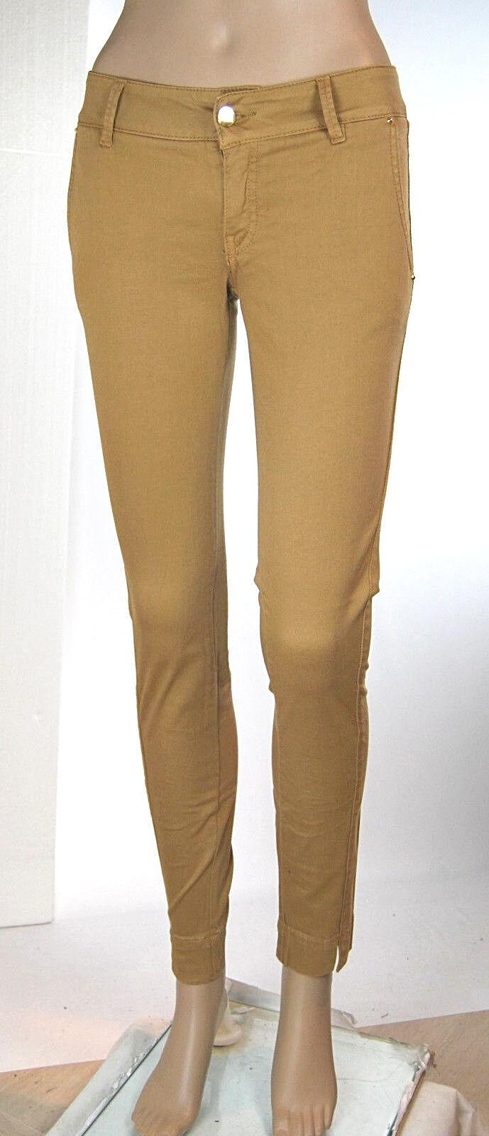 Pantaloni women Jeans MET Slim Fit Made in  C875 Tg 25 29