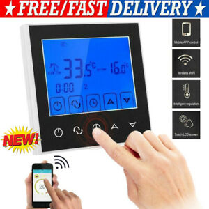 Digital Thermostat Programmierbar LCD Fußboden Heizung Raumtemperaturregler SALE