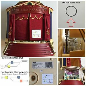 MR CHRISTMAS NUTCRACKER SUITE- REPLACEMENT PART-PULLEY BELT | eBay