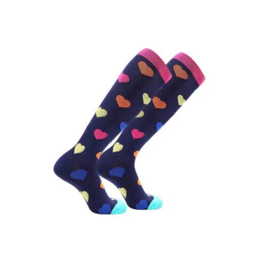 New Moderate Compression Socks Women Large Calf 15-20 mmHg Ladies/' Knee High ..