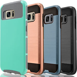 For-Samsung-Galaxy-S6-Edge-Plus-Phone-Case-Cover-Tempered-Glass-Protector