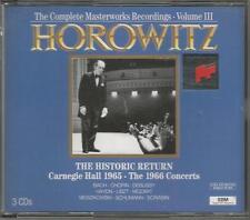 Vladimir Horowitz ~ The Complete Masterworks Recordings Vol. 3
