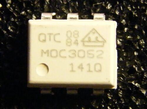 10x MOC3052 Random-Phase Optoisolators Triac Drivers QTC