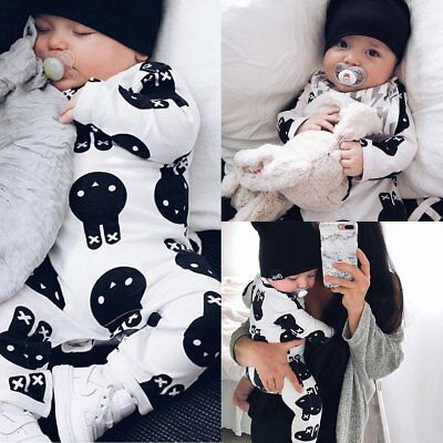 Baby Kids Boys Girl Rabbit Romper Jumpsuit Bodysuit Tutu Dress Outfit Clothes