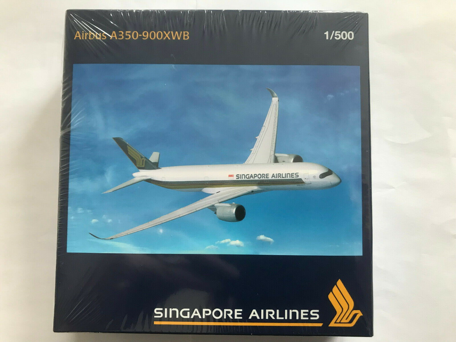 Rare Herpa Wings 1 500 - SIA-Singapore Airlines-airbus a350-900xwb - 524858