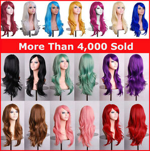 Womens-70cm-Long-Wavy-Curly-Hair-Synthetic-Cosplay-Full-Wig-Wigs-Party