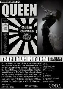 QUEEN-Tear-it-up-in-Tokyo-Limited-Edition-Grey-Vinyl-LP-Album-Limited-LIVE-RARE