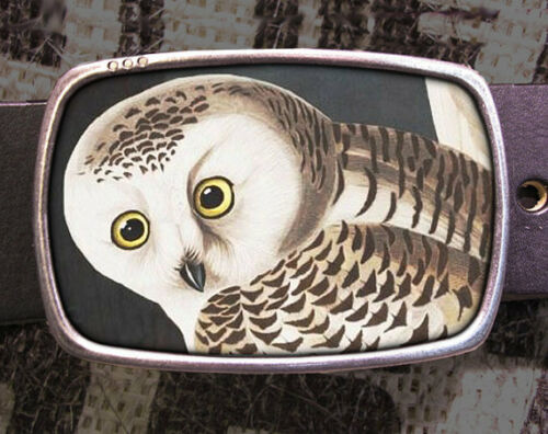 Owl Vintage Inspired Art Gift Owl Belt Buckle
