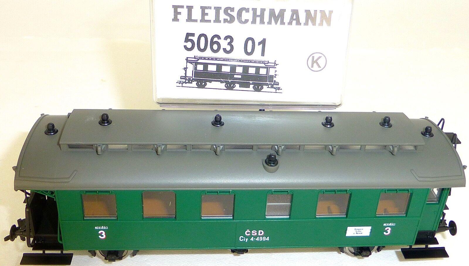 Csd Passagerarbil 3 klass Lastutrymme 506301 Fleischmann 5063 01 Neu Bb3 {65533;6553333;