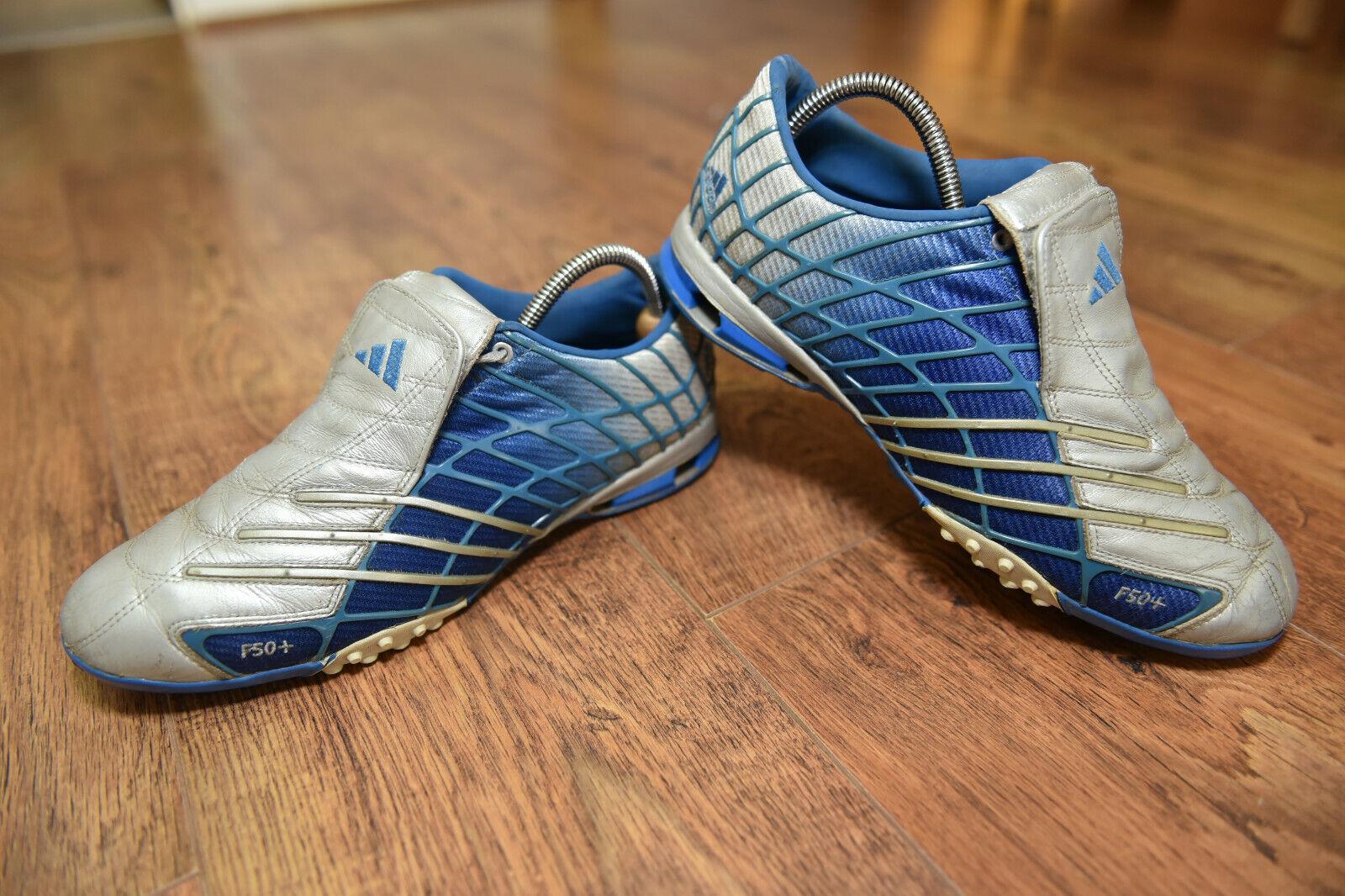 Adidas + F50 Araña A3 AG Astro Turf Fútbol botas Zapatillas 9 manía Tunit