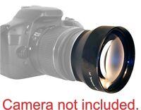 2x Telephoto Lens For Canon Eos Rebel T3 T3i T4 T4i T5 Kiss-x4 X5 20d 40d 18-55