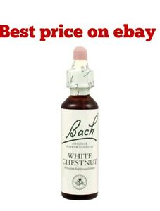 Bach flower remedies white chestnut 20ml nelsons 5000488103359 ebay image is loading bach flower remedies white chestnut 20ml nelsons mightylinksfo