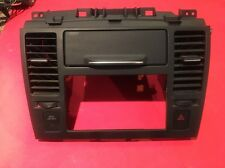 2007-2011 Nissan Versa Radio Climate Dash Trim Bezel w/ Vents & Hazard Switch