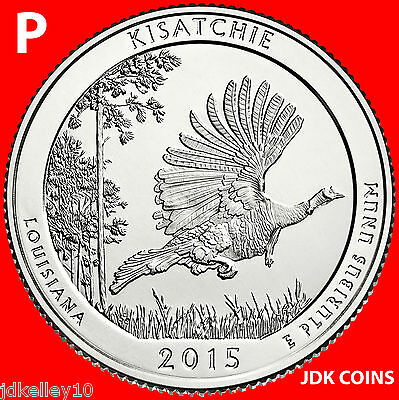 LOUISIANA 2015 KISATCHIE NATIONAL FOREST P/&D SET ***** IN-STOCK*****