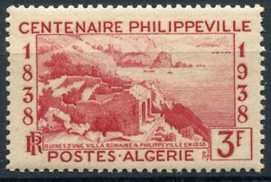 Stamps Africa Stamp Timbre Algerie Neuf N° 145 **golfe De Stora Et Ruines De Russicada Aesthetic Appearance