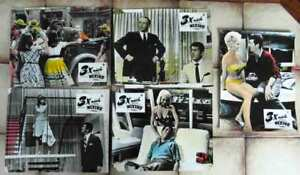 5-Aushangfotos-3-x-nach-Mexico-Dean-Martin-Frank-Sinatra-1965-coloriert