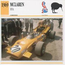 1969 McLAREN M9A Racing Classic Car Photo/Info Maxi Card