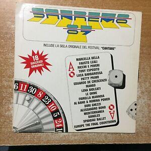 Disco vinile 33 giri LP Sanremo 87 1987 Marcella Bella Fausto Leali Patty Pravo