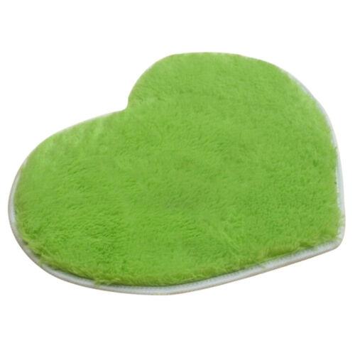 Cute Soft Absorbent Memory Foam Bath Bathroom Floor Shower Love Heart Mat Rug