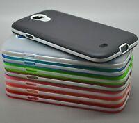 Samsung Galaxy S4 Mini I9190 TPU Silicone Protection Cover Bumper Crystal Case