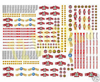 N Scale Ringling Bros. Barnum & Bailey Circus Wagon Decals- Huge 8.5 X 11 Sheet