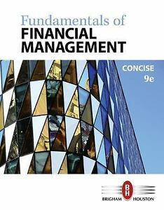 Fundamentals of Financial Management, Concise Edition 9781305635937