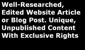 Unique-Website-Article-Blog-Post-Content-Exclusive-Rights-Quick-Delivery