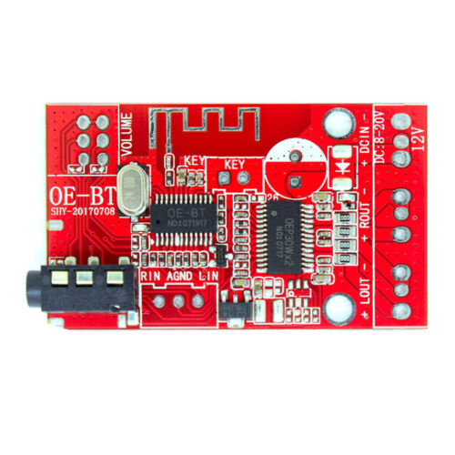 12V 30W*2 Bluetooth 4.2 Receiver Stereo Audio Amplifier Board full function USB