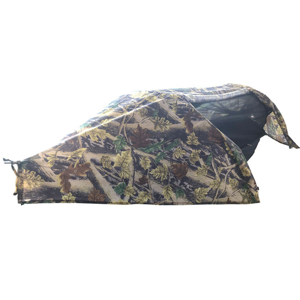 Portable Hanging Hammock Parachute Travel campeggio Sleeping Swing Bed Camo