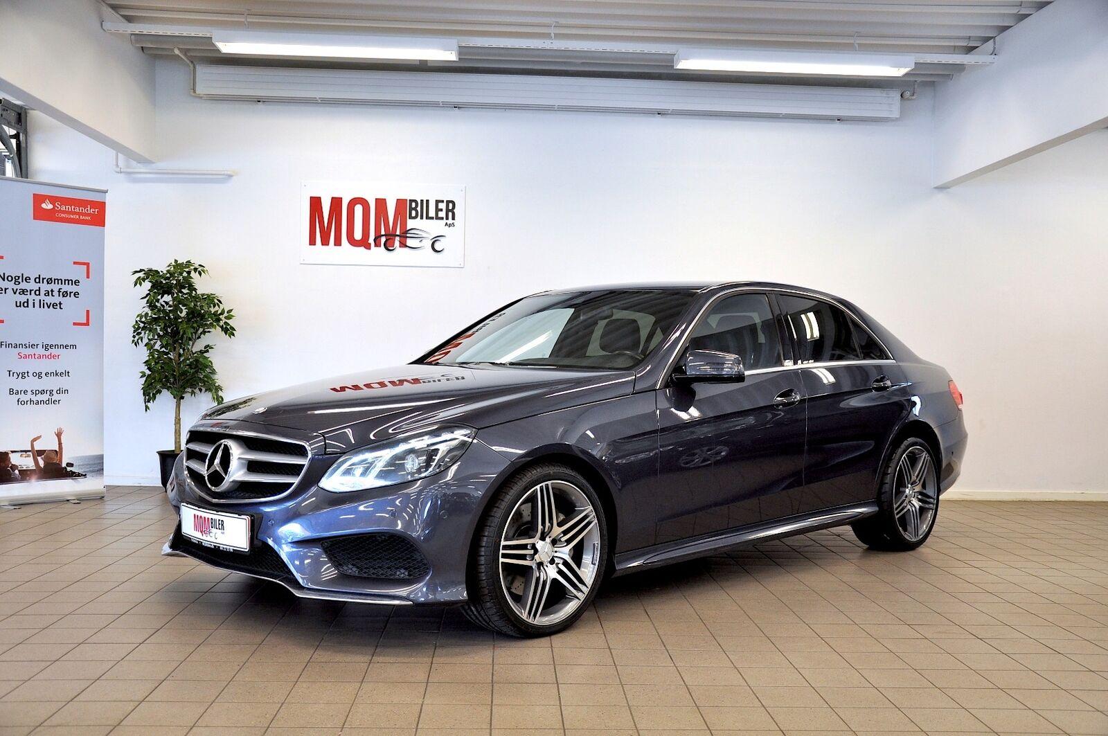 Mercedes E350 3,0 BlueTEC AMG Line aut. 4d - 309.900 kr.