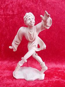 100% Vrai Belle,vieux Chiffre En Bois __ Danseurs De Morris __ Sculpté __ 17,5cm__ Tyrol Des Biens De Chaque Description Sont Disponibles