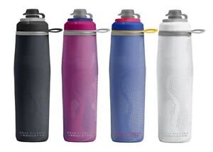 25oz INSULATED WATER BOTTLE SPORTS BPA FREE CAMELBAK PEAK FITNESS CHILL .74L