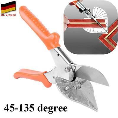 45° 135° Blechschere Gehrungsschere Winkelschere Leistenschere Stahl Schere