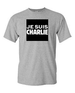 Bold Paris je suis charlie france freedom bold paris protest novelty dt adult t