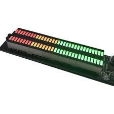 Dual 32 Amplifier Audio Led Music Spectrum Level Indicator Dual Channel Rhythm