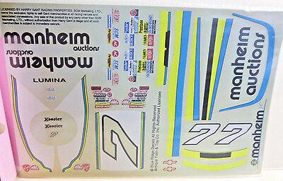 Conscientious 1994 #7 Harry Gant Chevy Lumina Manheim Auctions Slixx Model Car Decal 1:24 Utmost In Convenience Models & Kits Automotive