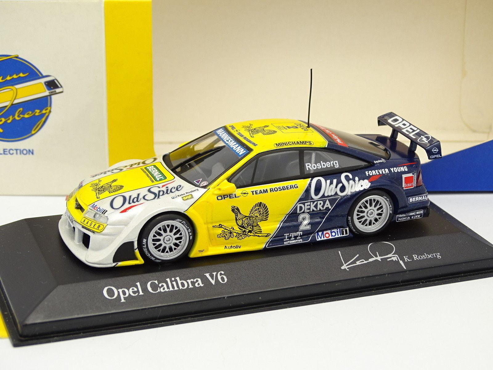 Minichamps 143  Opel Calibra V6 4X4 ITC Francia 1995 Rosberg