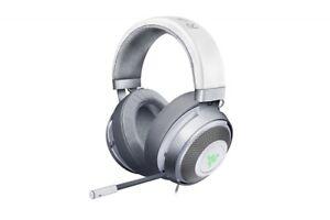 Razer Kraken 7.1 V2 Surround Gaming Headset for PC/Mac/PS4* Mercury White Oval E