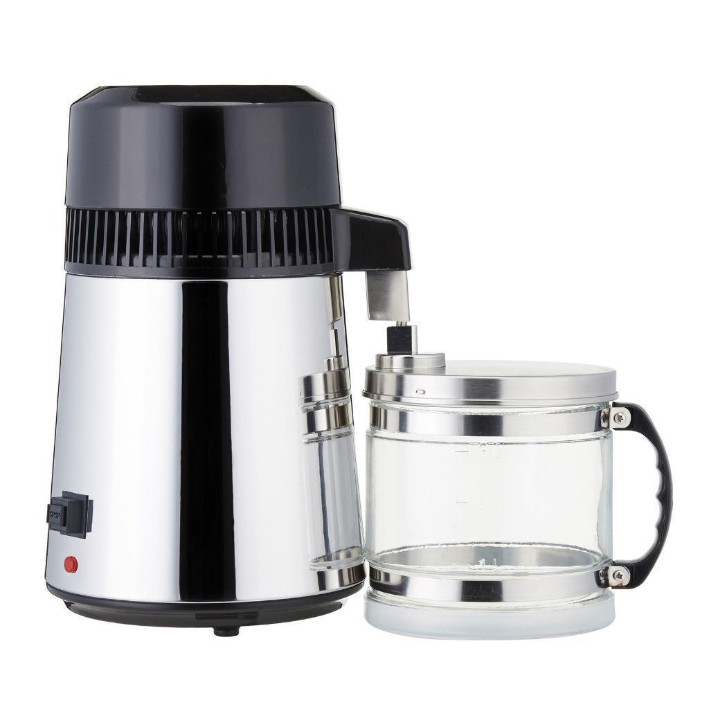 Electric eau Distiller inox récipient Filtre moonshine still 4 L
