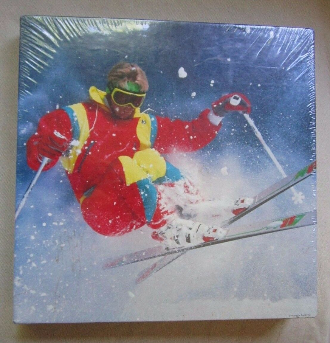 SPRINGBOK Jigsaw Puzzle DOWN HILL RUN New Sealed in Box (skiing) 20x20 pzl2434