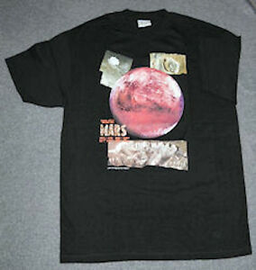 MARS-PLANET-ASTRONOMY-ADULT-SHIRT-2XL-NEW-IN-PACKAGE-SPECIAL-PRICE