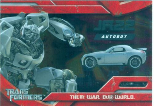 Transformers The Movie Foil Chase Card #4 Jazz