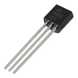 2N3906-3-Terminals-General-Purpose-PNP-Transistors-100-Pcs-AD