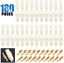 Glarks 400Pcs 6.3mm 1 2 3 4 6 8 9 Pin Electrical Automotive Wire Connector Male