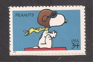 Image Is Loading SNOOPY ON DOGHOUSE WWI FLYING ACE U S POSTAGE