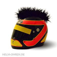 Helmirokese/ Helm Punk Deko Iro/ Irokese/ Helmaufsatz -für Motorradhelm -Schwarz