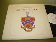 Richard Maltby - The Songs of Phi Gamma Delta LP rare 1960 Lore of Fiji private