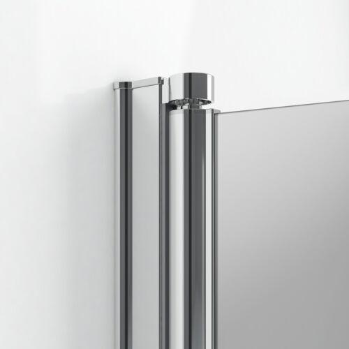 Duschabtrennung Falttür ESG Glas Duschkabine Eckeinstieg 70x70 76x76 70x80 80x80