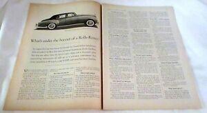1959 Rolls-Royce Silver Cloud Original Ad